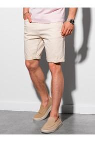 Pantaloni scurti casual barbati W303 - bej-deschis