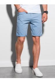 Pantaloni scurti casual barbati W303 - albastru-deschis