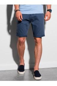Pantaloni scurti casual barbati W303 - albastru