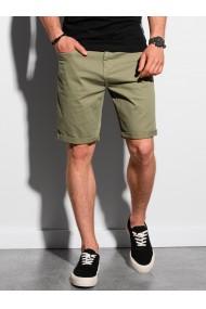 Pantaloni scurti casual barbati W303 - khaki