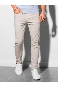 Pantaloni chinos barbati P990 - bej-deschis
