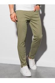 Pantaloni chinos barbati P990 - khaki