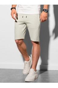 Pantaloni scurti Level Up W299 - gri-deschis