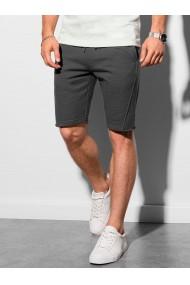 Pantaloni scurti Level Up W299 - gri-inchis