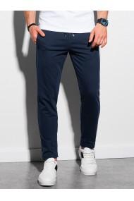 Pantaloni barbati P950 - bleumarin