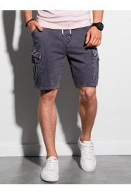 Pantaloni scurti barbati W292 - negru