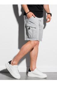 Pantaloni scurti barbati W292 - gri-deschis