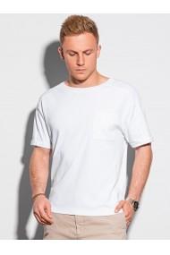 Tricou barbati S1386 - alb