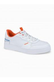 Sneakers casual barbati T367 - alb