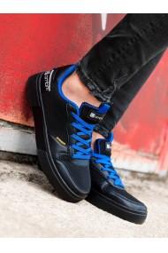 Sneakers casual barbati T367 - negru