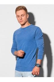 Bluza cu maneca lunga barbati L131 - albastru-inchis