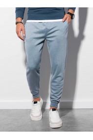 Pantaloni quintessence barbati P991 - albastru