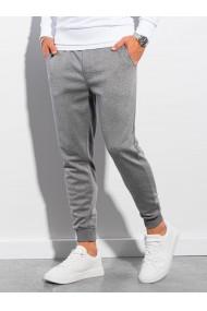 Pantaloni quintessence barbati P991 - gri-inchis