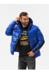 Geaca de iarna barbati - C503 - albastru