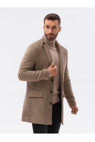 Palton premium barbati - C431-maro