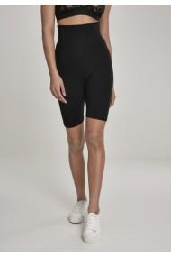 Pantaloni scurti cu talie inalta Cycle pentru Femei negru Urban Classics