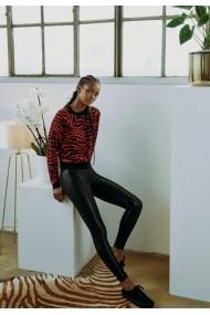 Colanti piele ecologica pentru Femei negru Urban Classics
