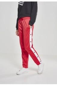 Pantaloni de trening cu nasturi pentru Femei foc-rosu Urban Classics