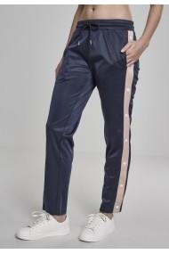 Pantaloni de trening cu nasturi pentru Femei bleumarin-lightrose Urban Classics
