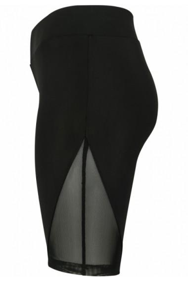 Pantaloni scurti cu plasa Cycle pentru Femei negru Urban Classics
