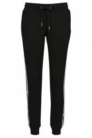 Pantaloni sport College contrast pentru Femei negru-alb Urban Classics