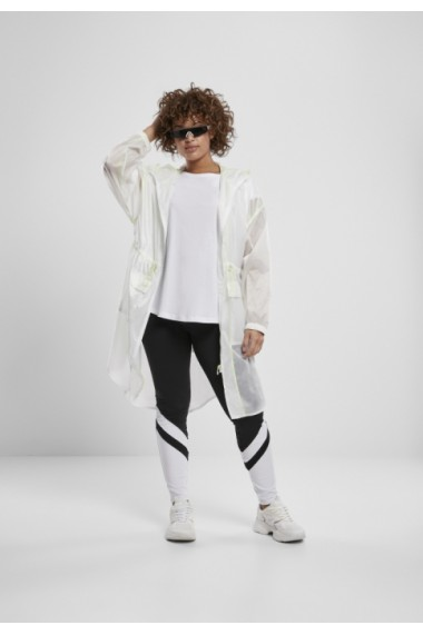 Colanti Arrow cu talie inalta pentru Femei negru-alb Urban Classics