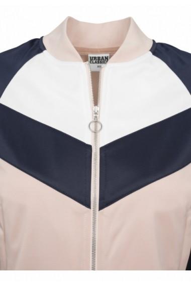 Bluza de trening Short Raglan pentru Femei light-rose Urban Classics