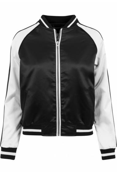 Jacheta trei culori Souvenir pentru Femei negru-alb murdar Urban Classics