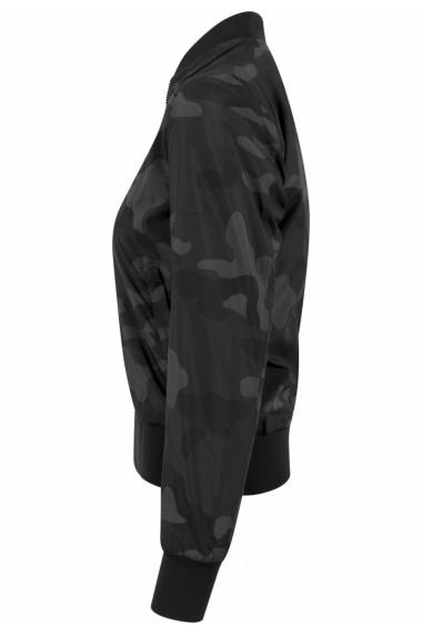 Geaca subtire bomber Camo pentru Femei camuflaj Urban Classics