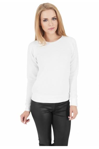 Bluza sport dama stripe alb