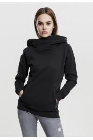 Hanorac cu guler inalt pentru Femei negru Urban Classics