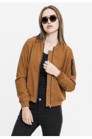 Ladies Peached Bomber Jacket