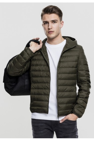 Basic Hooded Down Jacket