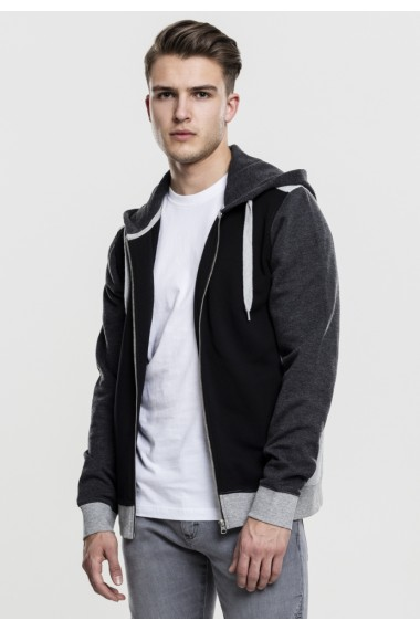 3- Tone Sweat Zip Hoody