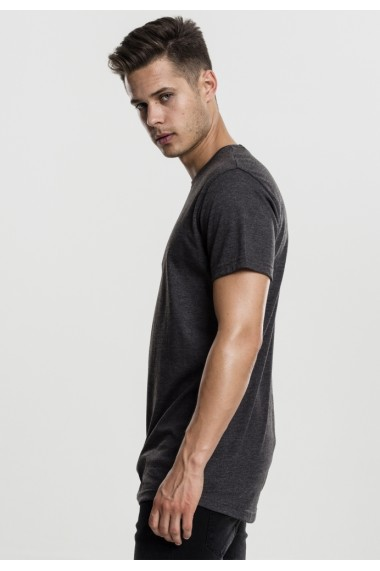Shaped Melange Long Tee