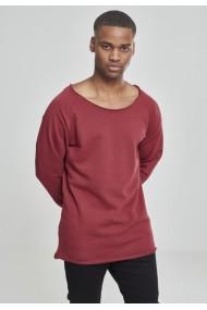 Bluza cu guler rotund long