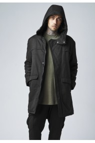 Cotton Peached Canvas Parka