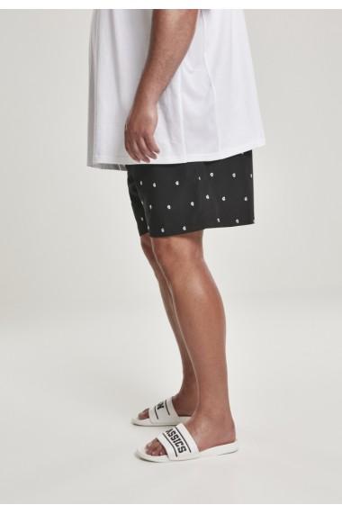 Embroidery Swim Shorts