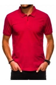 Tricou Polo polo barbati S1048 - rosu
