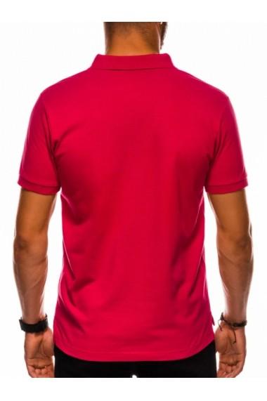 Tricou polo barbati S1048 - rosu