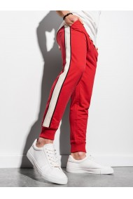 Pantaloni barbati P951 - rosu