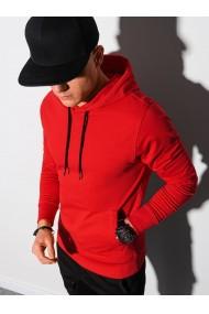 Men s hooded sweatshirt B1154 - red
