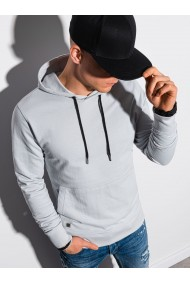 Men s hooded sweatshirt B1154 - light grey
