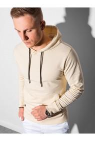 Men s hooded sweatshirt B1154 - cream