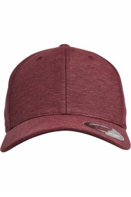 Sapca Flexfit Natural Melange rosu burgundy