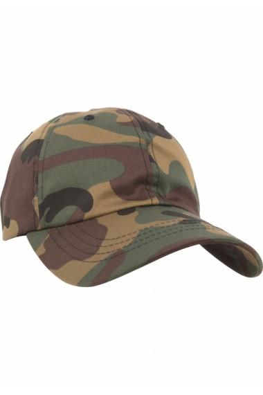 Sapca Low Profile Cotton Twill verde-camuflaj Flexfit