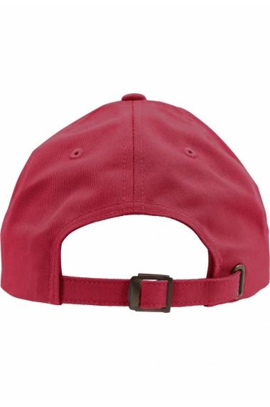 Sapca Low Profile Cotton Twill cranberry Flexfit