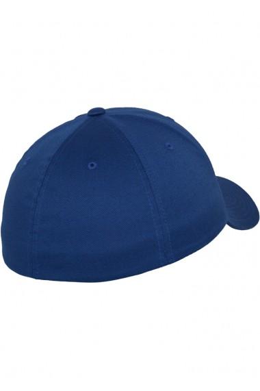 Sapca originala Flexfit Wooly Combed albastru roial