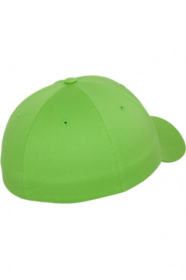 Sapca originala Flexfit Wooly Combed fresh-verde