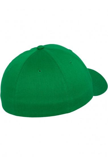 Sapca originala Flexfit Wooly Combed pepper-verde